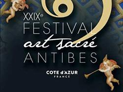 29e Festival d'Art sacré d'Antibes