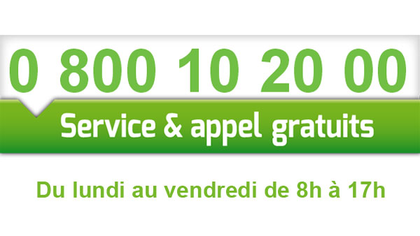 creation logo numero vert