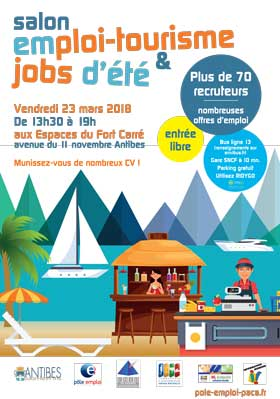 Salon emploi tourisme jobs d t onvasortir nice - Salon job d ete lille ...
