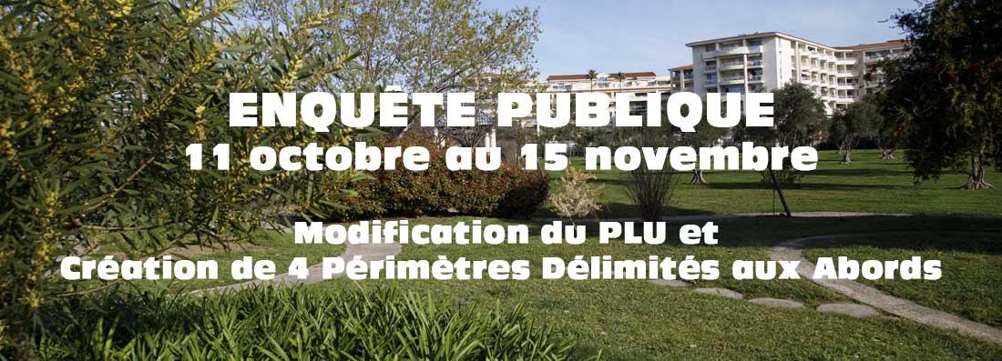 Enquête Publique  - Modification PLU et création de 4 PDA