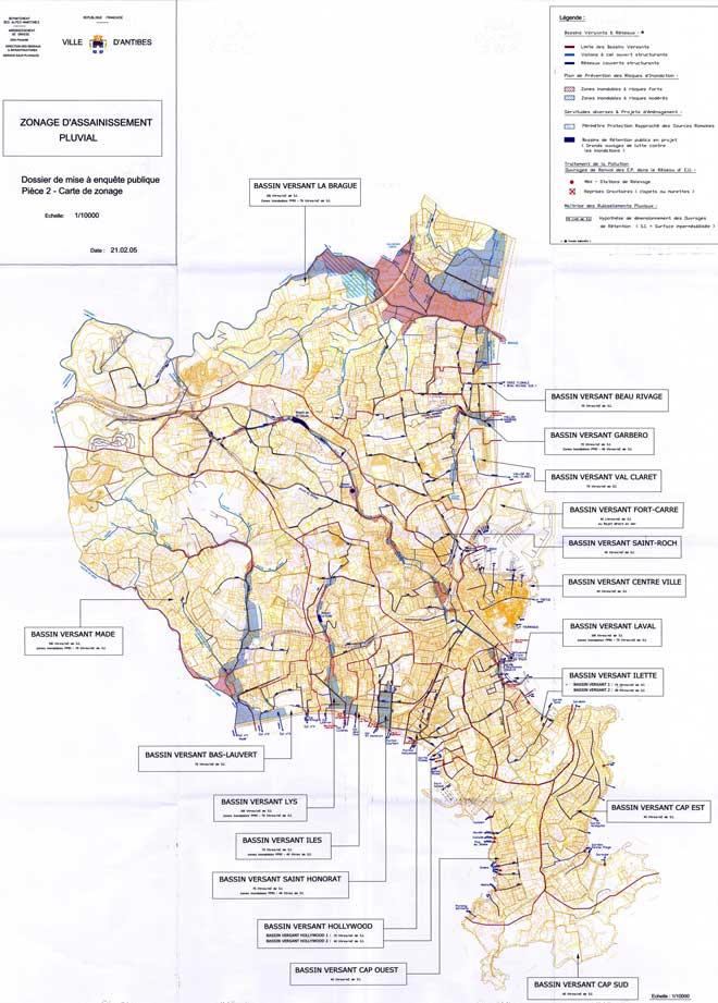 Zonage d 39 assainissement pluvial for Assainissement cours pdf