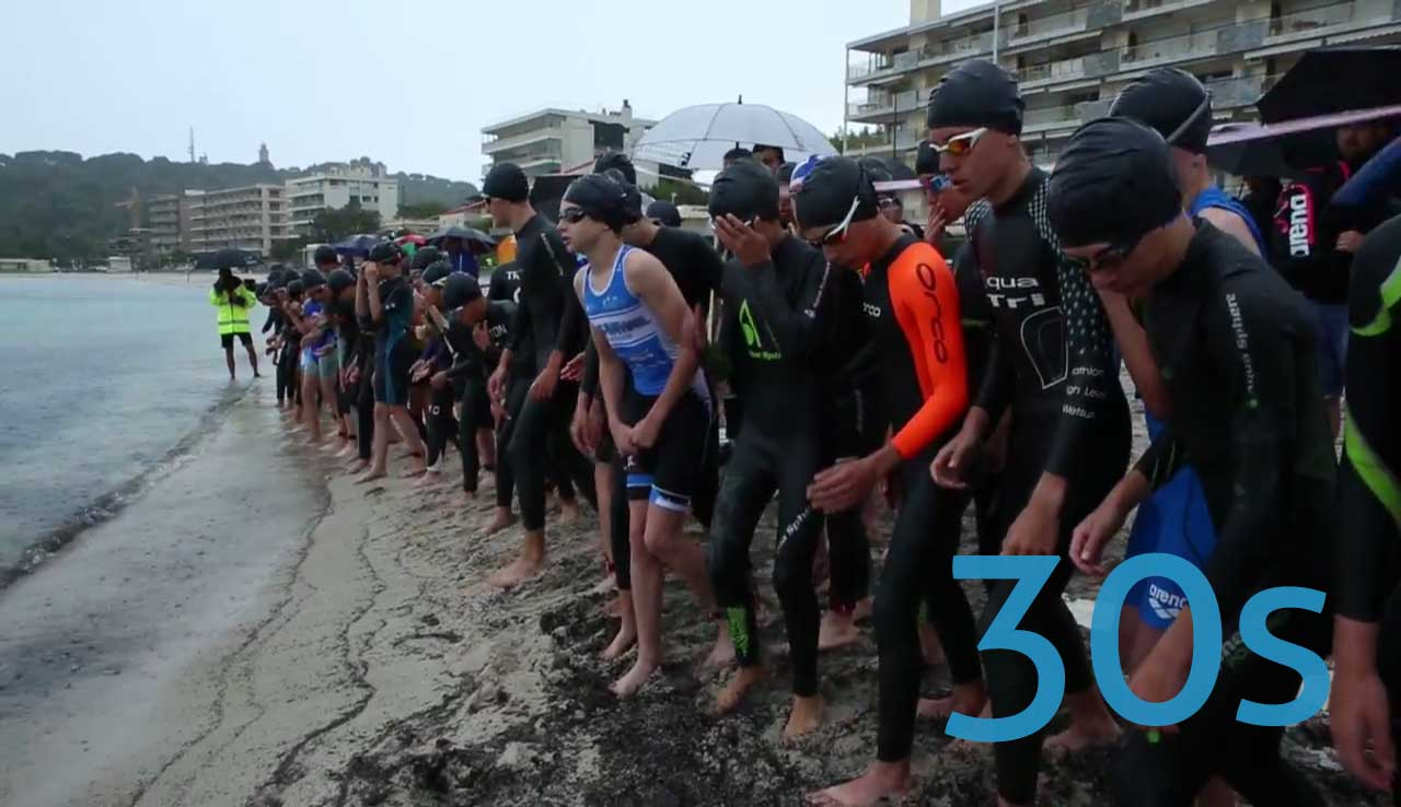4e édition de l'Aquaroc d'Antibes Triathlon