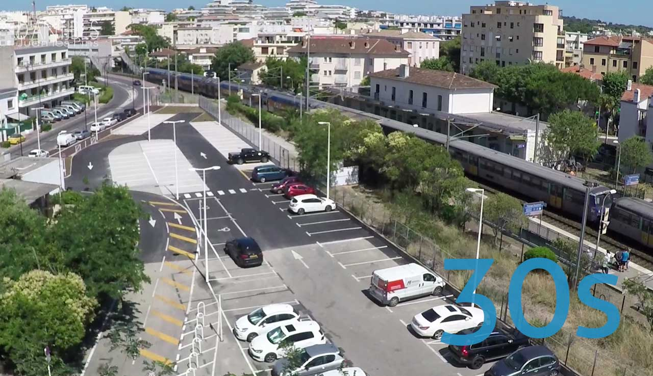 Extension du parking Courbet de Juan-les-Pins
