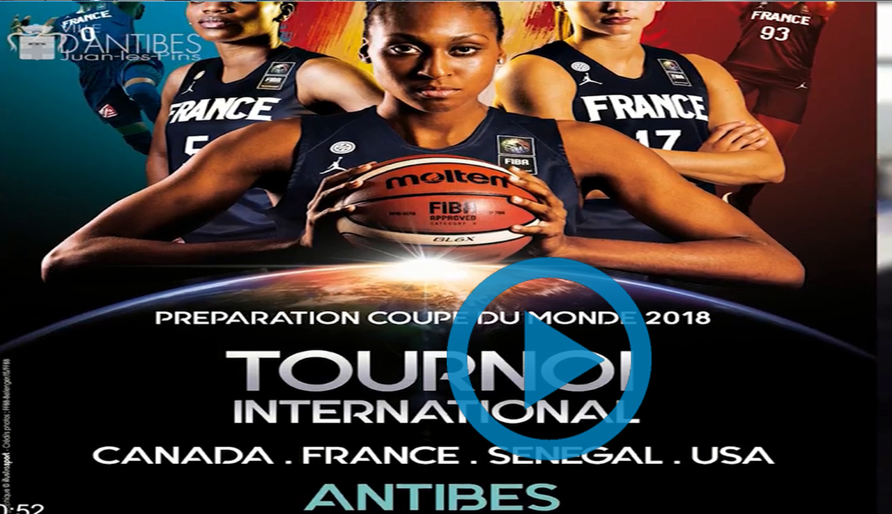 Tournoi International de Basket Féminin Pro